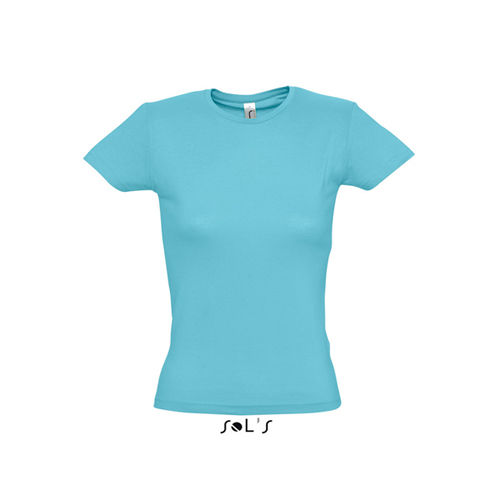 Ladies T-Shirt Miss [S] (Atoll blue) (Art.-Nr. CA106266)