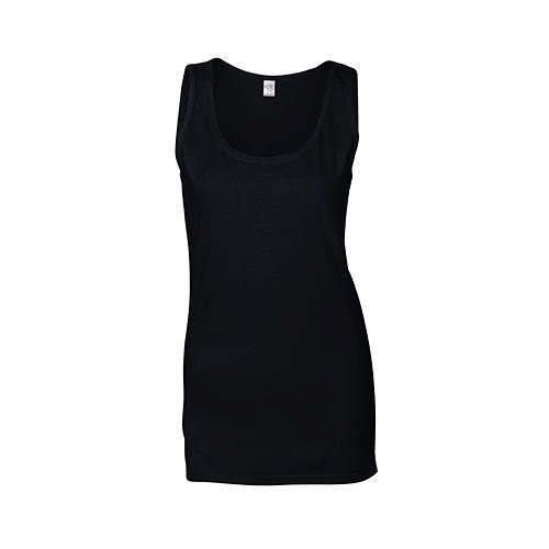 Softstyle® Ladies´ Tank Top [M] (black) (Art.-Nr. CA106432)