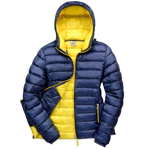 Ladies Snow Bird Padded Jacket [XXL] (navy / Yellow) (Art.-Nr. CA106538)