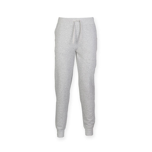 Mens Slim Cuffed Jogger [M] (heather grey) (Art.-Nr. CA106925)