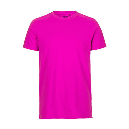 Mens Fitted T-Shirt [S] (pink) (Art.-Nr. CA106981)