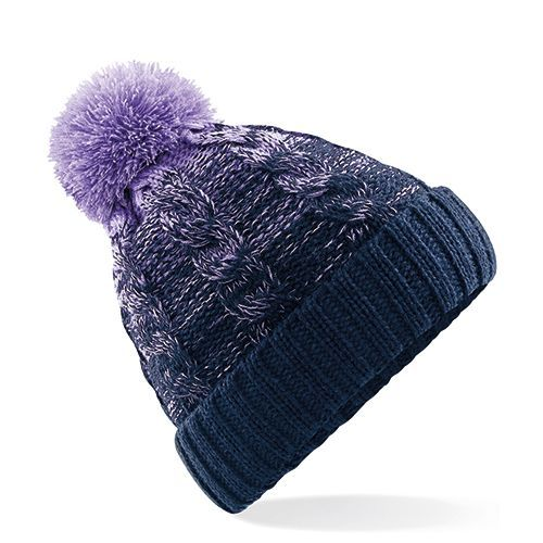 Ombré Beanie [One Size] (Lavender / french navy) (Art.-Nr. CA107227)