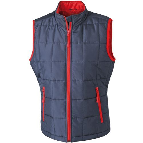 Ladies´ Padded Light Weight Vest [S] (navy / red) (Art.-Nr. CA107405)