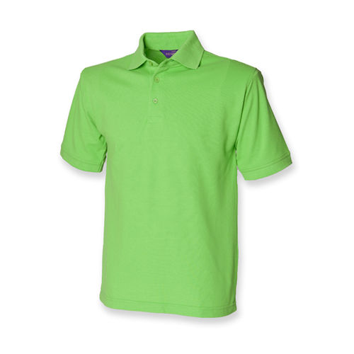 Men`s 65/35 Classic Piqué Polo Shirt [XXL] (bright lime) (Art.-Nr. CA107519)