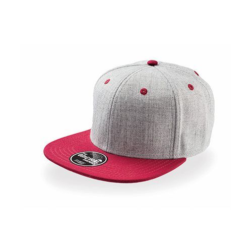 Fader - Snap Back [One Size] (grey / Burgundy) (Art.-Nr. CA107807)