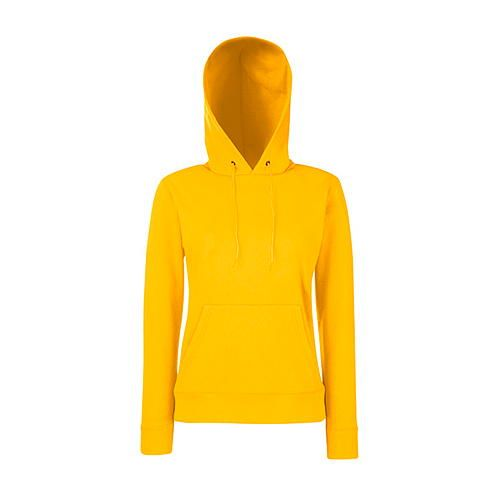 Classic Hooded Sweat Lady-Fit [XS] (Sunflower) (Art.-Nr. CA108378)