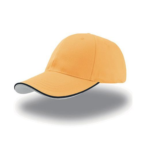 Zoom Piping Sandwich Cap [One Size] (Yellow / navy / white) (Art.-Nr. CA108580)