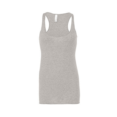 Triblend Racerback Tank Top [L] (grey Triblend (heather)) (Art.-Nr. CA109100)