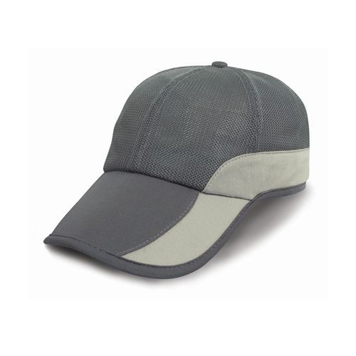 Addi Mesh Cap Under-Peak Pocket [One Size] (charcoal / Cream) (Art.-Nr. CA109990)