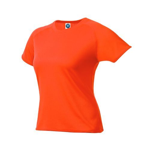 Ladies Sport T-Shirt [L] (fluorescent orange) (Art.-Nr. CA110924)