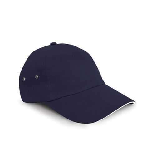 Printers Plush Cotton 5 Panel Cap [One Size] (navy / white) (Art.-Nr. CA111935)