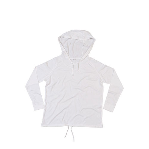 Women`s Loose Fit Hooded T [M] (white) (Art.-Nr. CA117712)