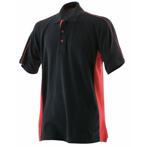 Men`s Sports Polo [XL] (black) (Art.-Nr. CA117891)
