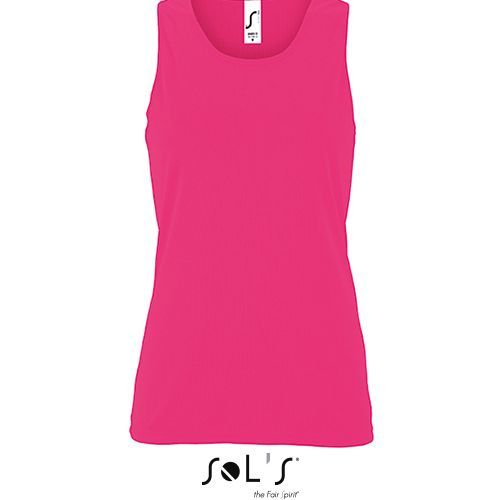 Womens Sports Tank Top Sporty [XXL] (neon pink) (Art.-Nr. CA120827)