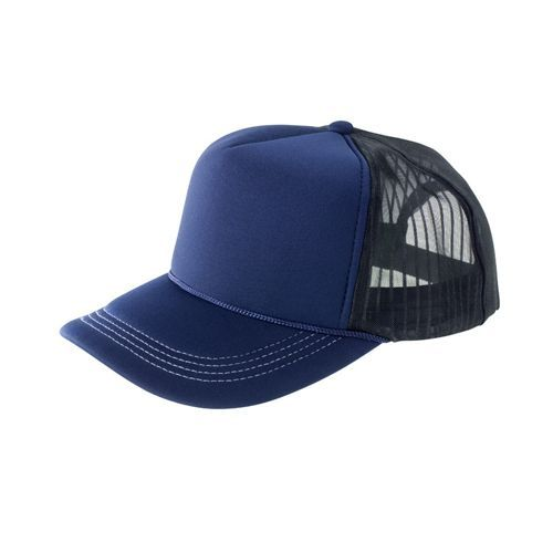 Super Padded Mesh Baseball Cap [One Size] (navy / white / black) (Art.-Nr. CA122764)