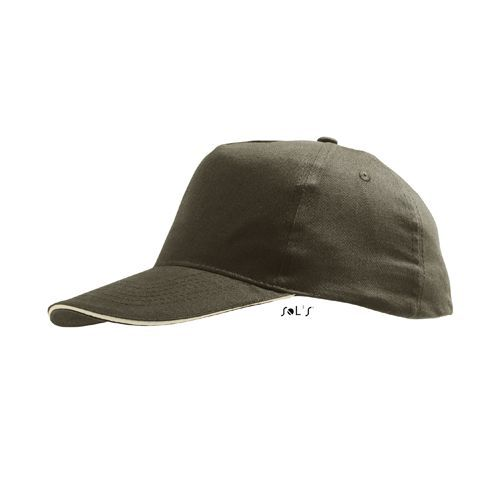 Cap Sunny [One Size] (army / beige) (Art.-Nr. CA127698)