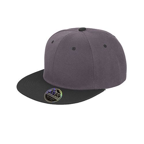 Bronx Dual Colour Cap [One Size] (heather grey) (Art.-Nr. CA129822)