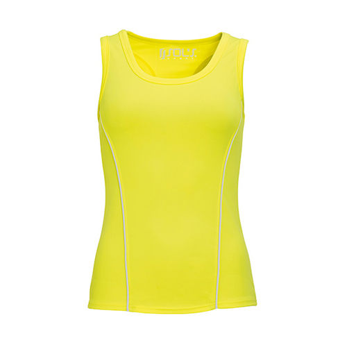 Women`s Running Tank Top Rio [XL] (neon yellow) (Art.-Nr. CA134921)