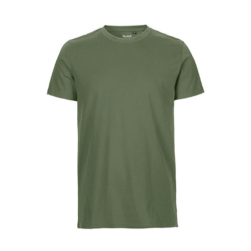Mens Fitted T-Shirt [XXL] (Military) (Art.-Nr. CA138037)