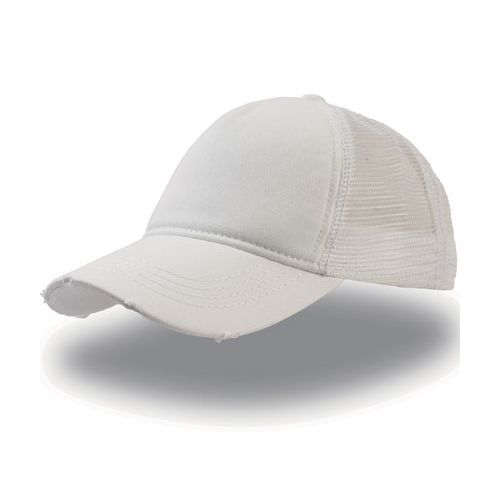 Rapper Destroyed Cap [One Size] (white) (Art.-Nr. CA138292)