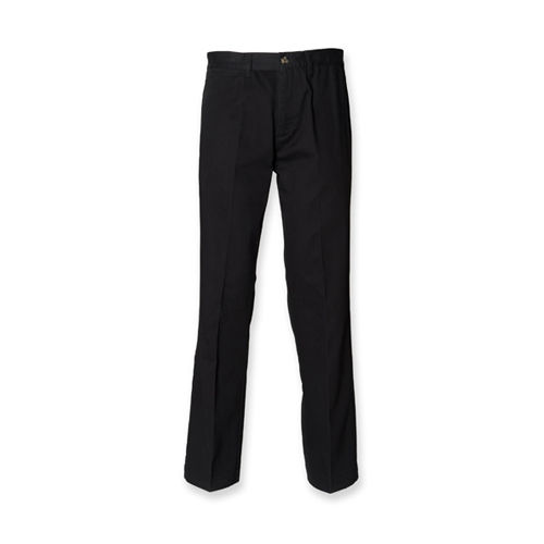 Men`s Teflon Coated Flat Front Chino [32/32] (Black) (Art.-Nr. CA141969)