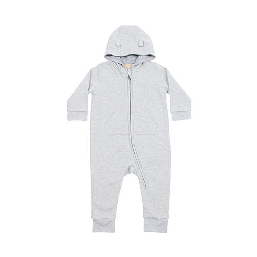 Toddler Fleece All in One [18/24 Month] (heather grey) (Art.-Nr. CA142275)