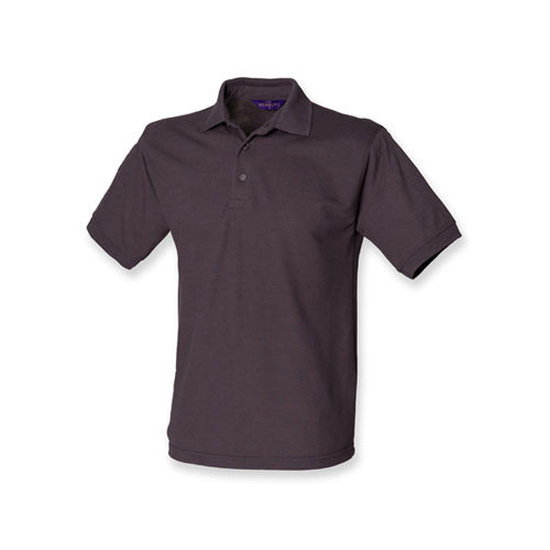 Men`s 65/35 Classic Piqué Polo Shirt [L] (Dark Grey (Solid)) (Art.-Nr. CA142362)