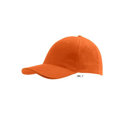 Six Panel Cap Buffalo [One Size] (orange) (Art.-Nr. CA142988)