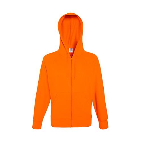 Lightweight Hooded Sweat Jacket [L] (orange) (Art.-Nr. CA143172)