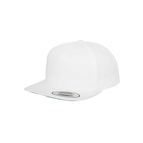 Classic 5 Panel Snapback [One Size] (white) (Art.-Nr. CA144371)