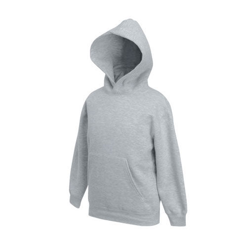 Kids Premium Hooded Sweat [152] (heather grey) (Art.-Nr. CA144556)