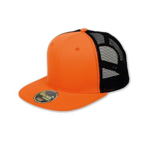 Snap Mesh Cap [One Size] (orange Fluo) (Art.-Nr. CA147184)