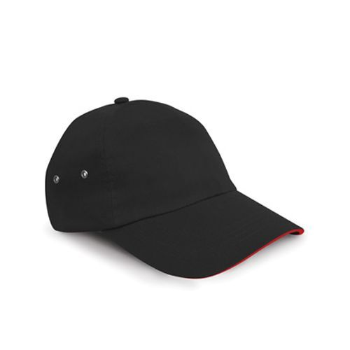 Printers Plush Cotton 5 Panel Cap [One Size] (black) (Art.-Nr. CA150781)