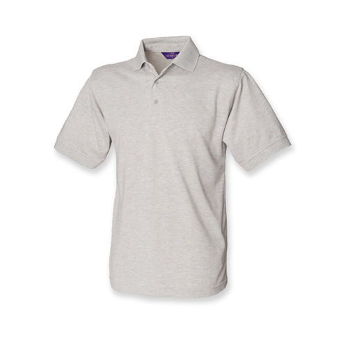 Men`s 65/35 Classic Piqué Polo Shirt [5XL] (Heather Grey) (Art.-Nr. CA151862)