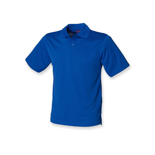 Men`s Coolplus Wicking Polo Shirt [L] (Royal) (Art.-Nr. CA154567)