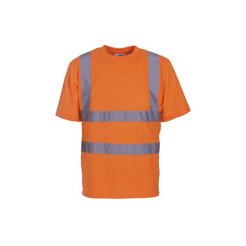 Two Band & Brace Hi Vis T-Shirt [3XL] (Hi-Vis orange) (Art.-Nr. CA155173)