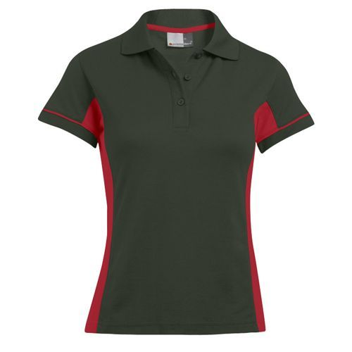 Women`s Function Contrast Polo [XS] (Hunting Green) (Art.-Nr. CA155615)