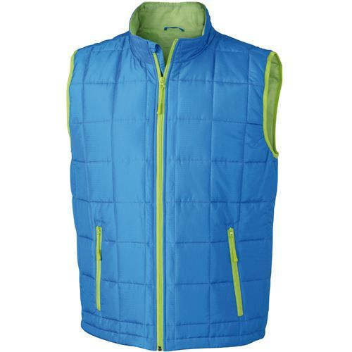 Men`s Padded Light Weight Vest [S] (Aqua) (Art.-Nr. CA156192)
