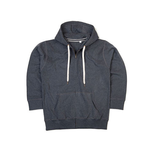 Women`s Superstar Zip Through Hoodie [XL] (charcoal grey Mélange) (Art.-Nr. CA156808)