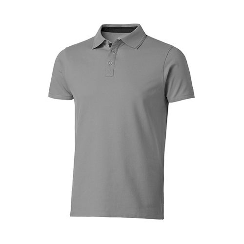 Hacker Polo [XXL] (Grey (Solid)) (Art.-Nr. CA158024)