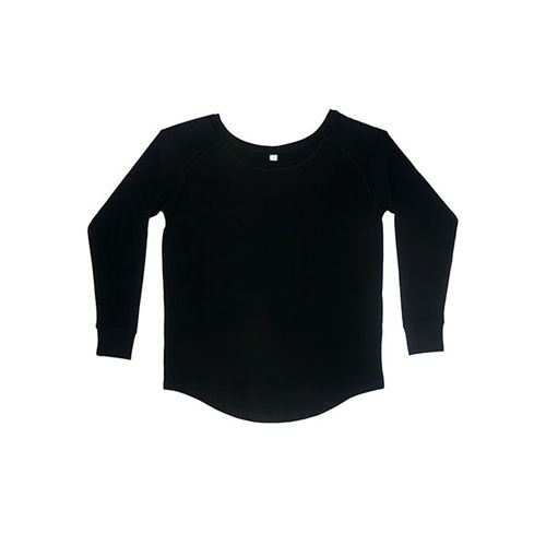 Women`s Loose Fit Long Sleeve T [XL] (Black) (Art.-Nr. CA160063)