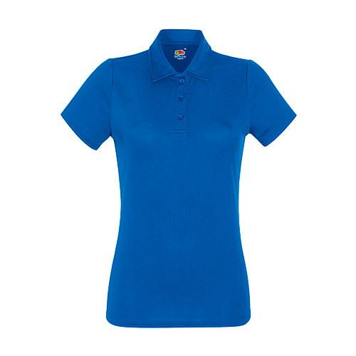 Fruit of the Loom Performance Polo Lady-Fit [XXL] (Royal Blue) (Art.-Nr. CA160300)