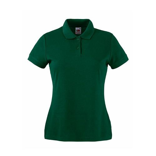 Fruit of the Loom 65/35 Polo Lady-Fit [XS] (Bottle Green) (Art.-Nr. CA160406)