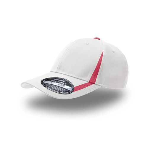 Jogging Cap [One Size] (white / Fuchsia) (Art.-Nr. CA172550)