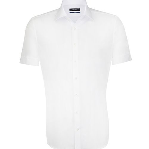 Mens Shirt Tailored Fit Shortsleeve [45] (white) (Art.-Nr. CA176523)