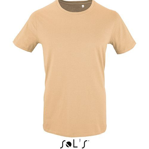 Mens Short Sleeve T-Shirt Milo [M] (Sand) (Art.-Nr. CA176893)