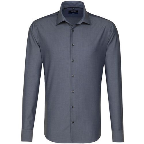 Men`s Shirt Tailored Fit Longsleeve [38] (Anthracite) (Art.-Nr. CA179111)