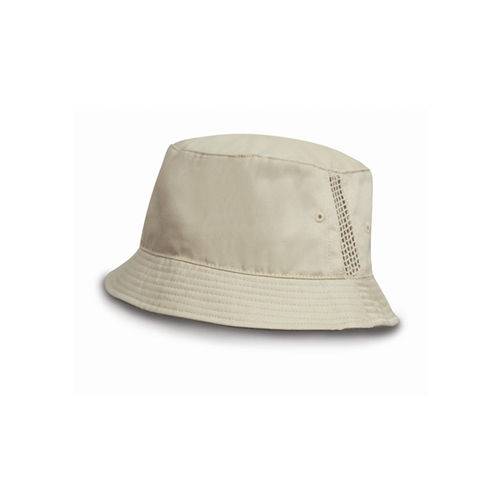 Washed Cotton Bucket Hat [One Size] (natural) (Art.-Nr. CA194945)