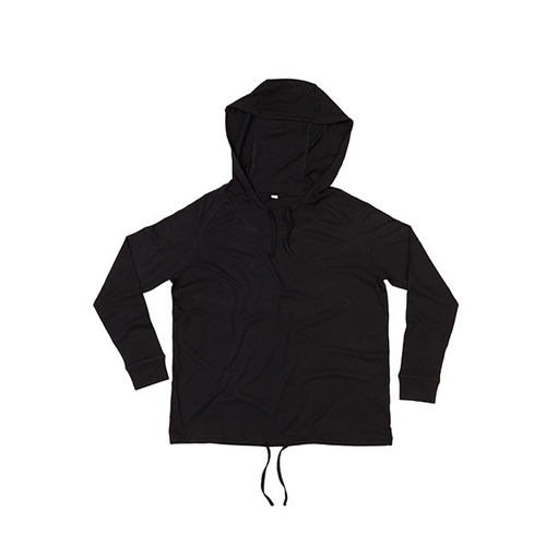 Women`s Loose Fit Hooded T [M] (Black) (Art.-Nr. CA197018)