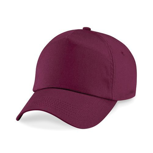 Junior Original 5-Panel Cap [One Size] (burgundy) (Art.-Nr. CA199981)